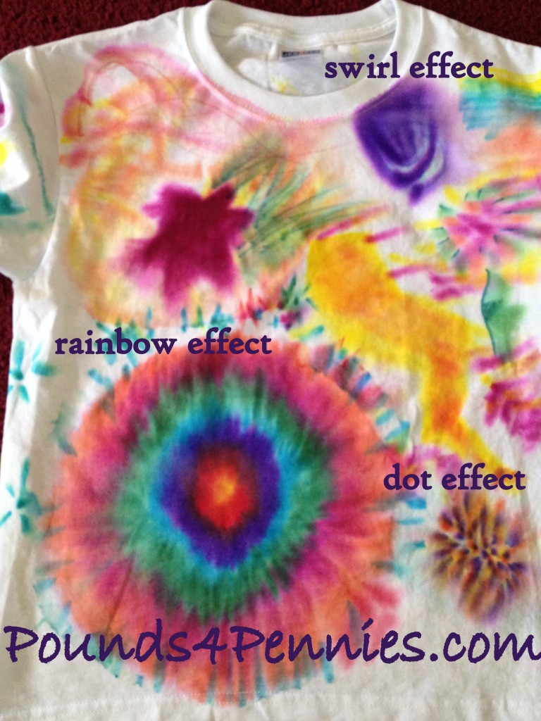 Sharpie Tie Dye ideas