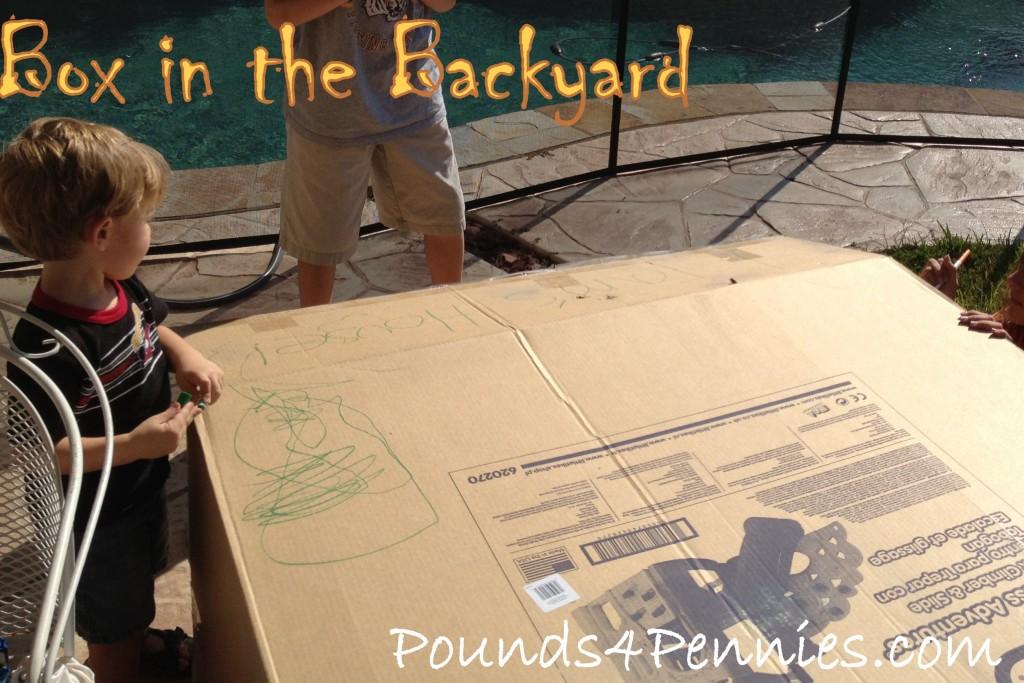 Backyard playset box