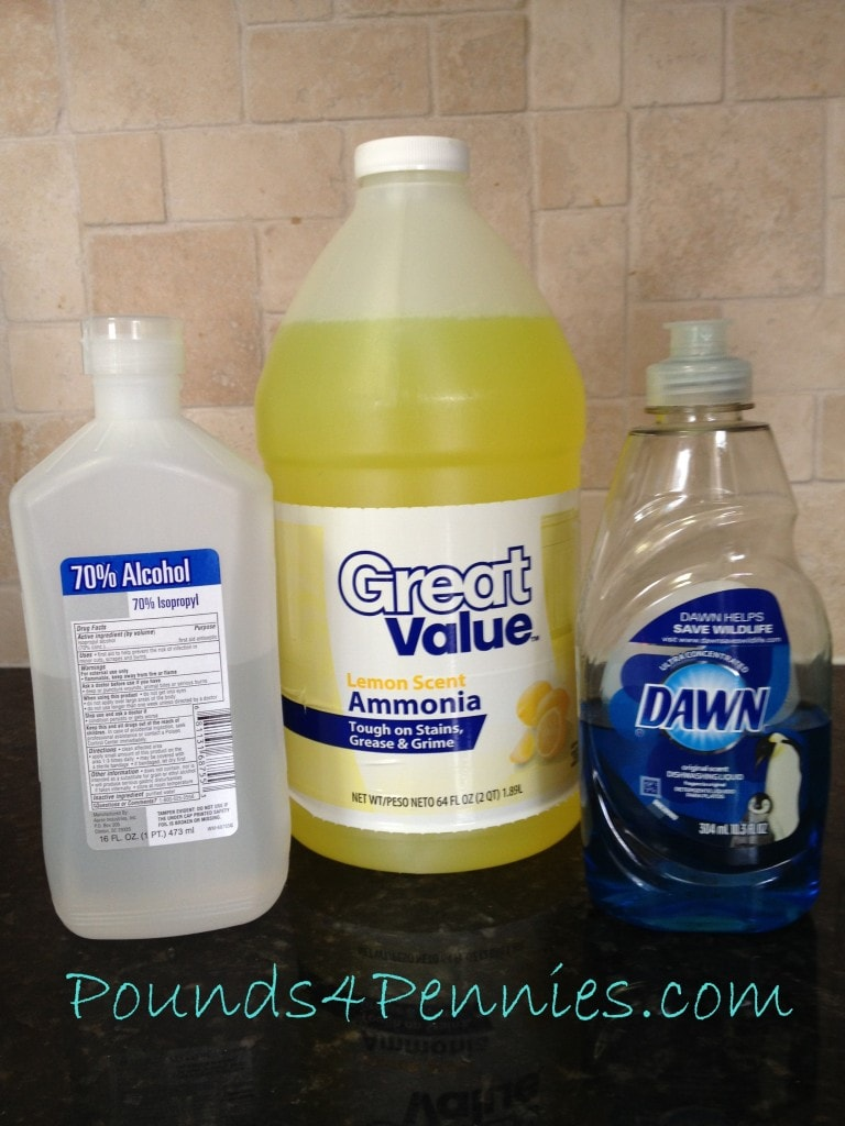 Homemade Cleaning Products Window Cleaner