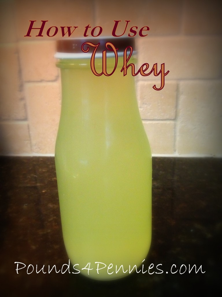 How to use whey