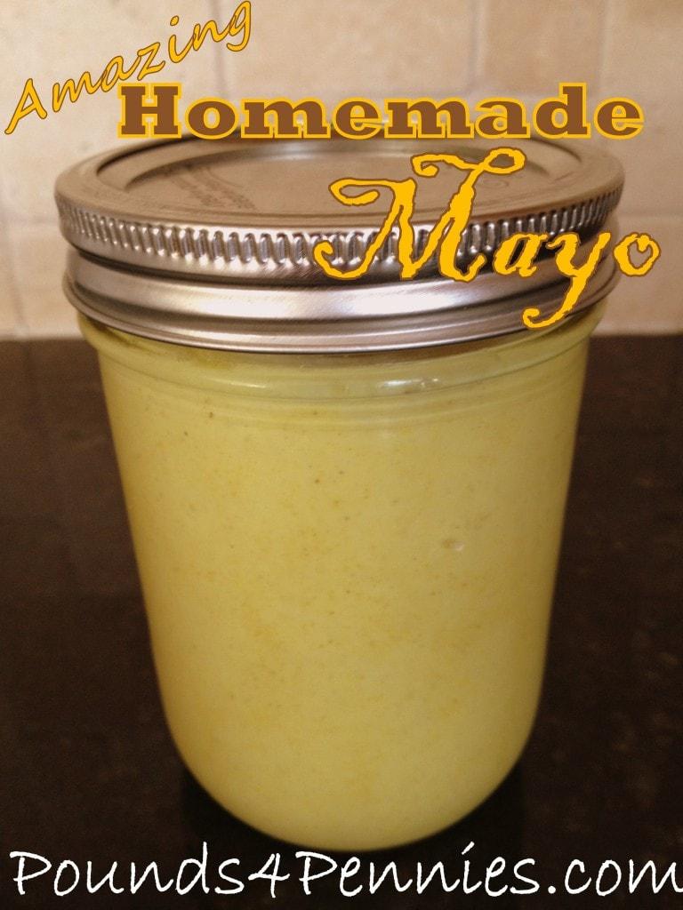 Easy to make mayo recipe for Easy homemade mayonnaise recipe