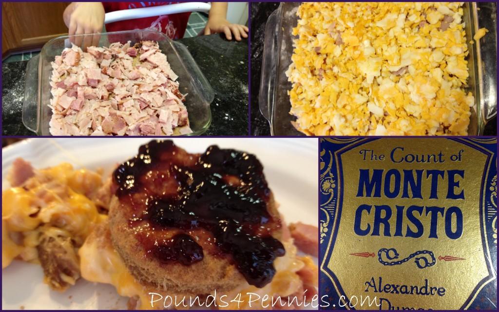 Monte Cristo Ham casserole