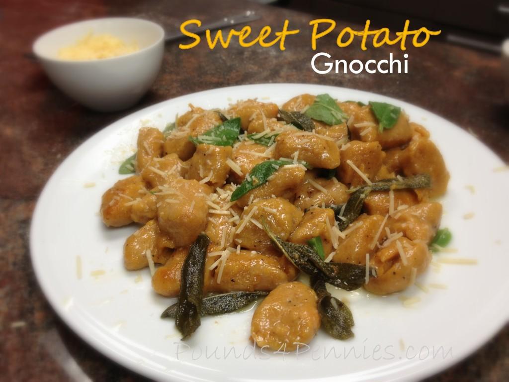 Gluten Free Pasta Sweet Potato Gnocchi