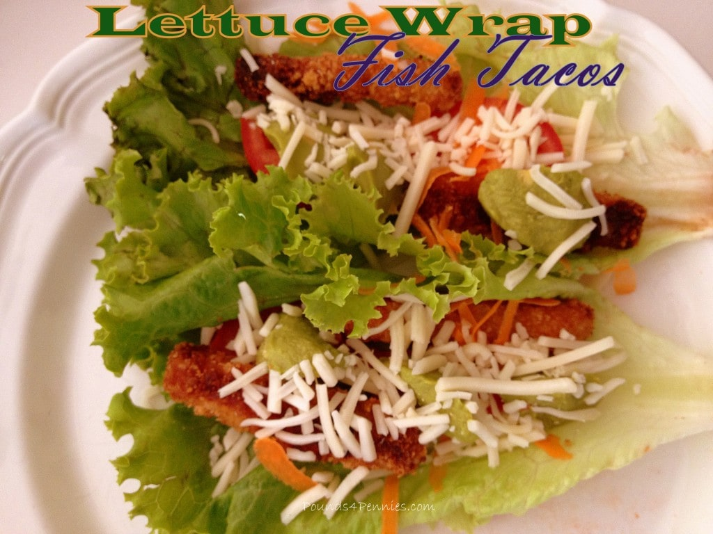 Super Simple Lettuce Wrap Fish Tacos for Lower Carbs