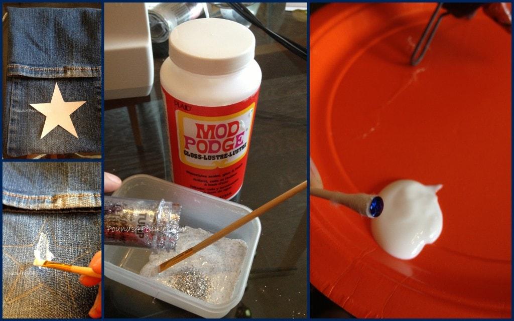 How To make glitter glue