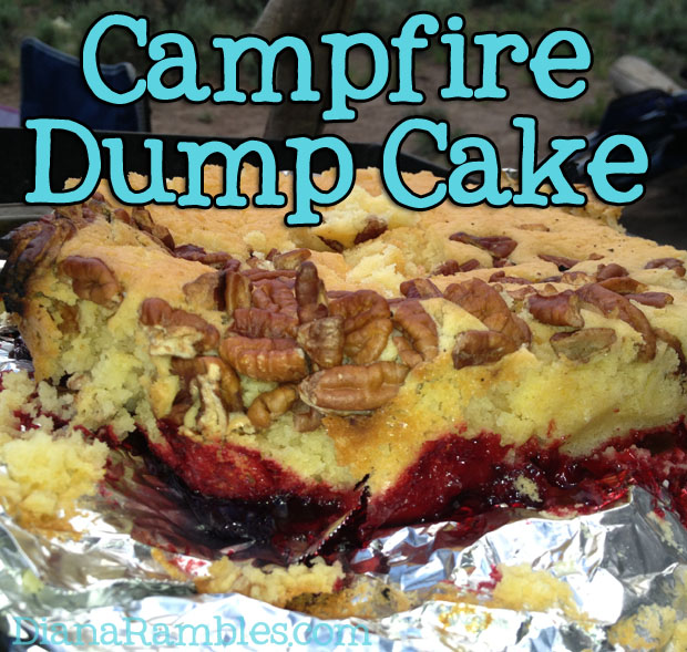 Campfire Dutch Oven Dump Cake Recipe