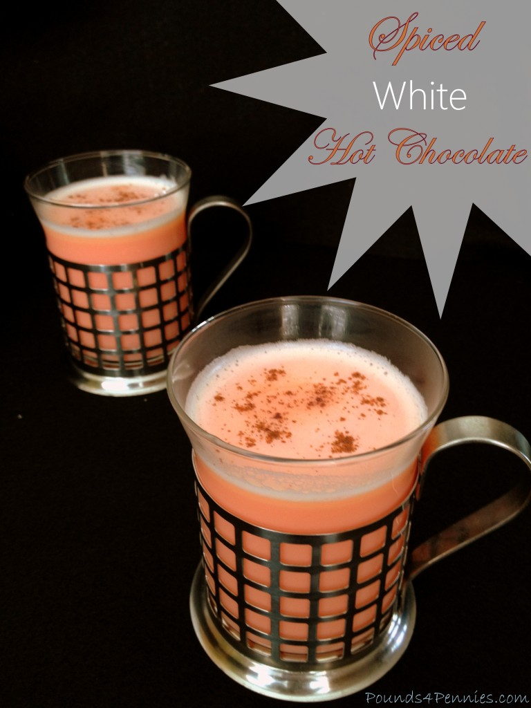 Easy to Make Spiced White Hot Chocolate