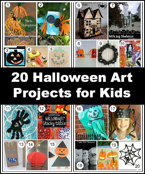 Kids Halloween Crafts to Make