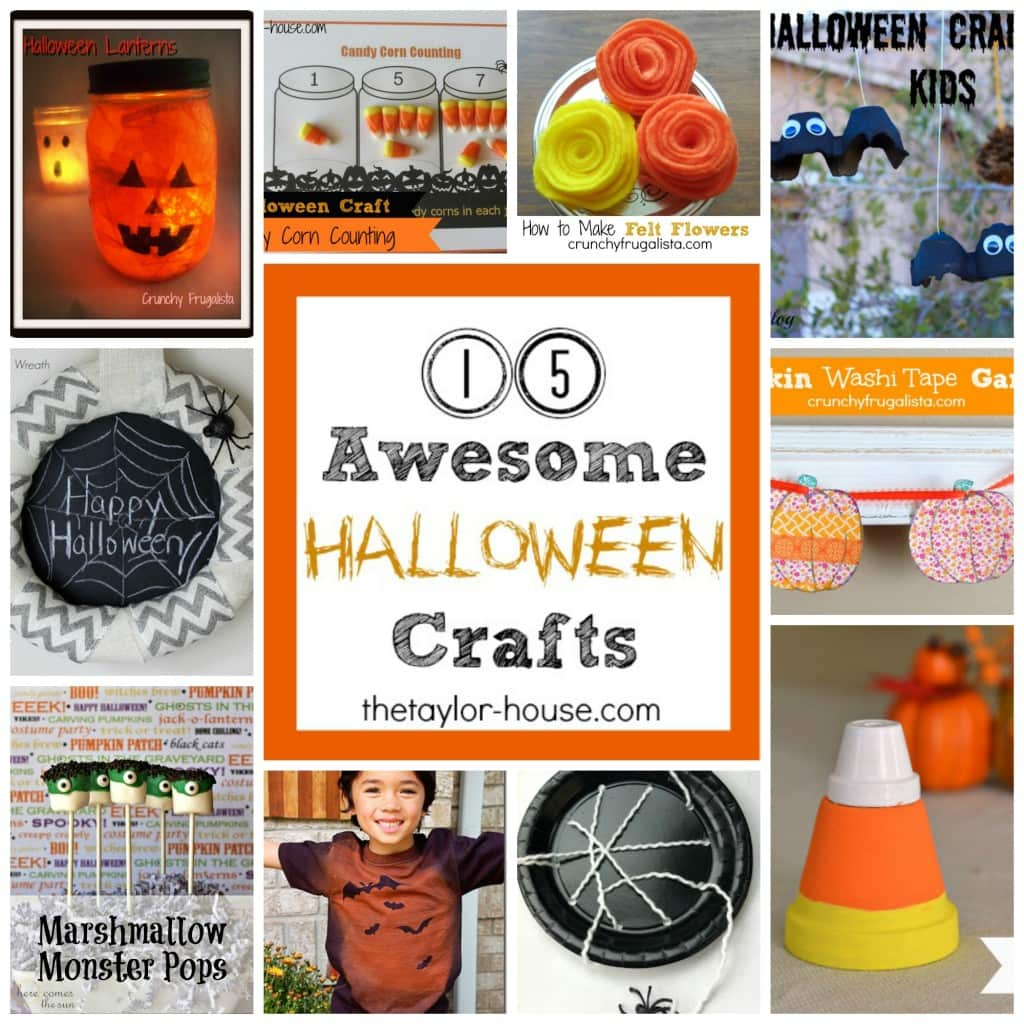54 Halloween Craft Ideas for Kids to Make