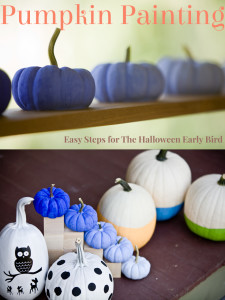 Learn pumpkin painting