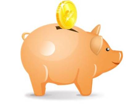 Savings Pig Extra Cash