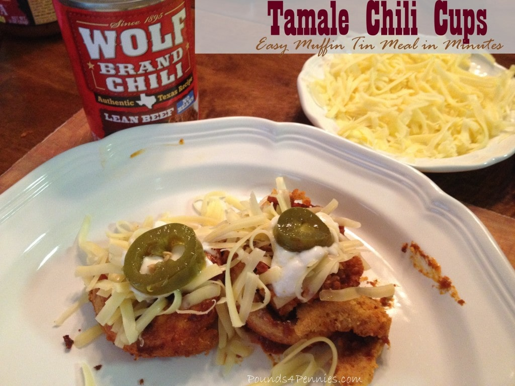 Tamale Chili Cups Quick Easy Dinner #ad