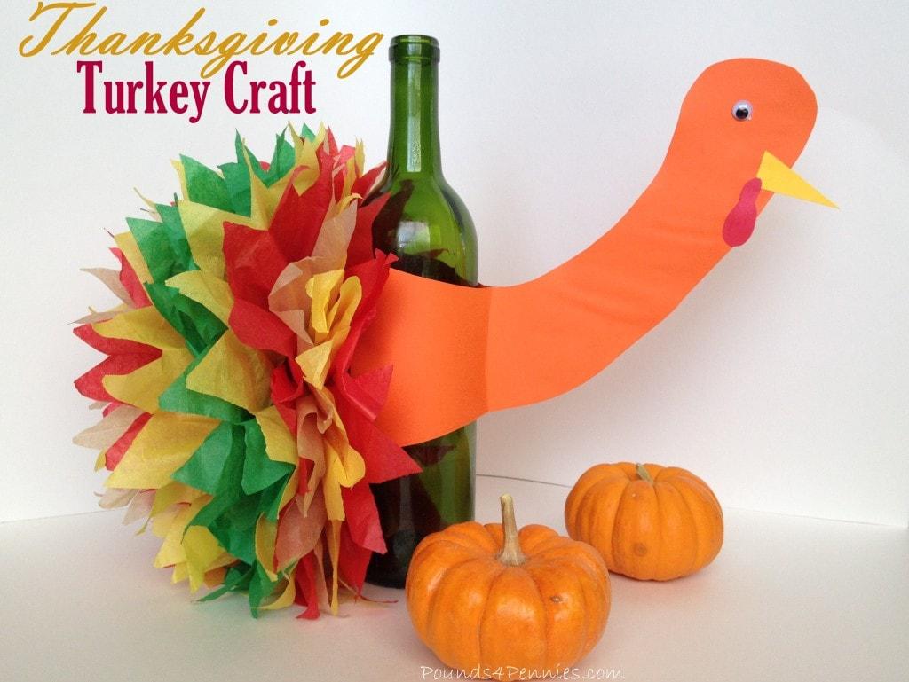 turkey crafts thanksgiving