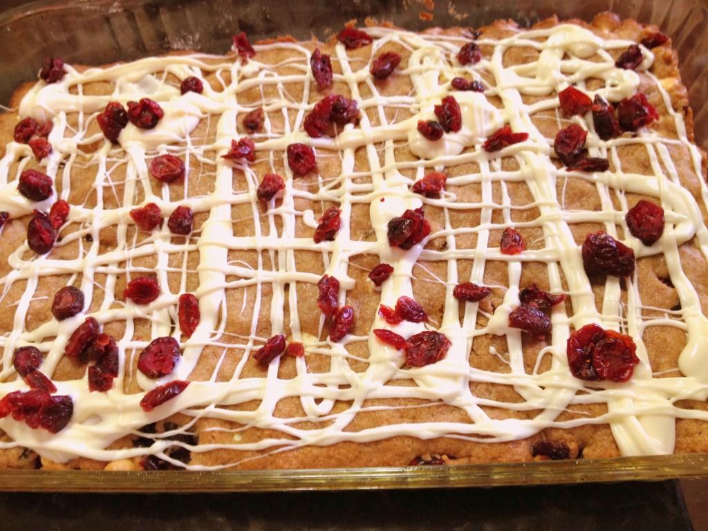 White Chocolate cranberry recipe
