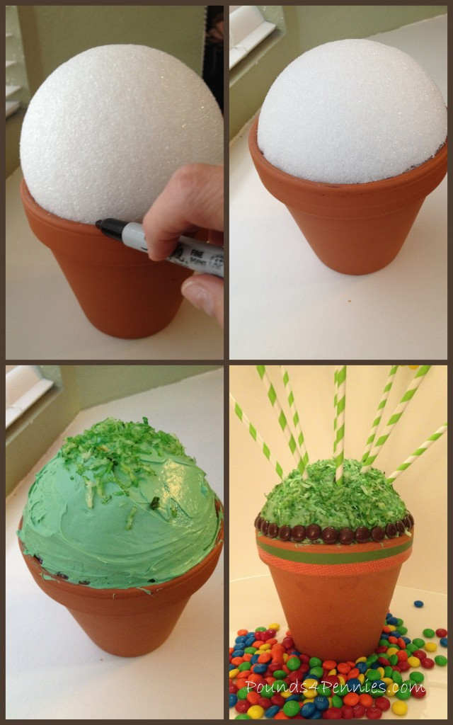 Baking With M Amp M S Flower Cake Pops Bouquet