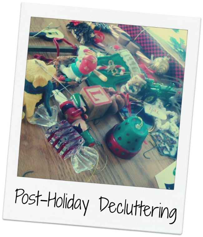 Post-Holiday-DeCluttering