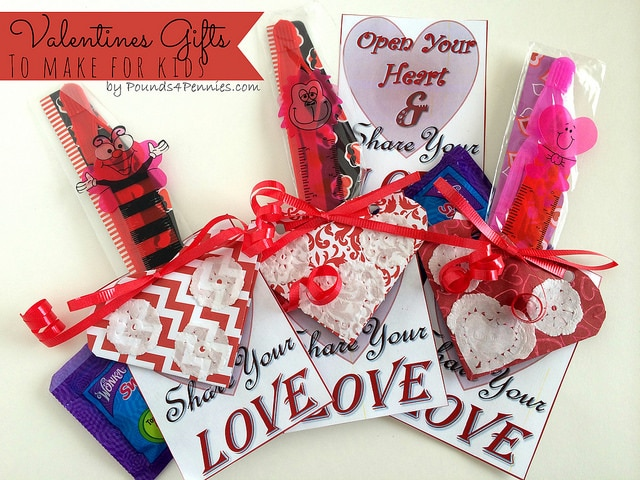 Valentine Cards for Kids - Valentine Gifts to Make - Pounds4Pennies