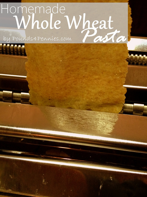 The Best Homemade Whole Wheat Pasta Recipe - Pounds4Pennies