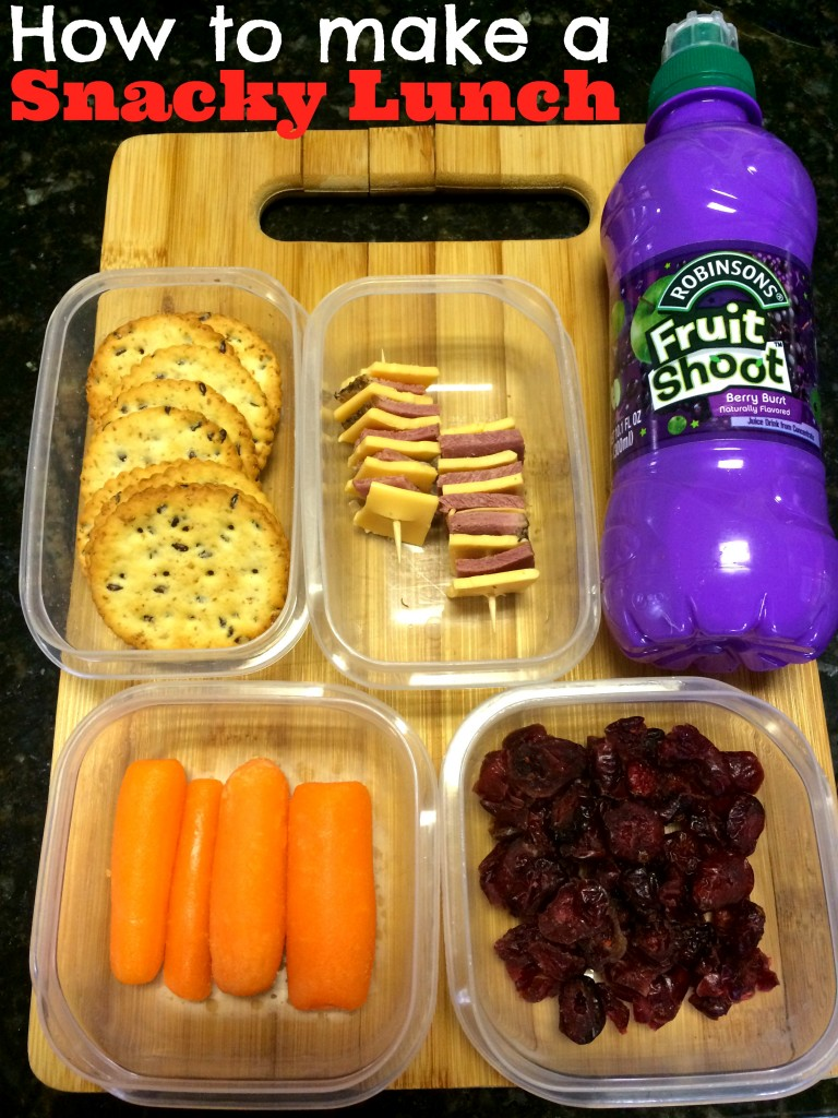 How to make the best Snacky Lunch for kids. Great snack lunch.