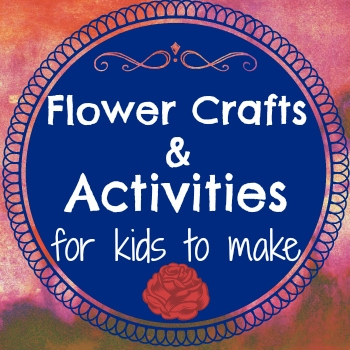 flower crafts and activities for kids