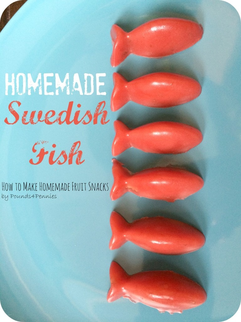 Homemade Swedish Fish
