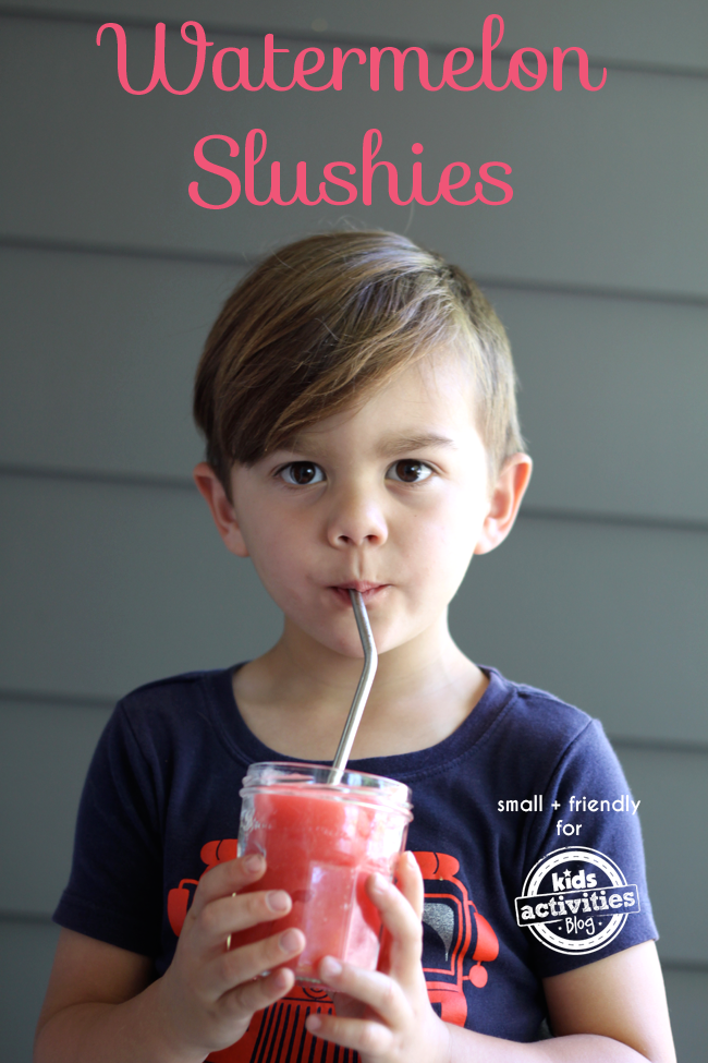 watermelon slushies