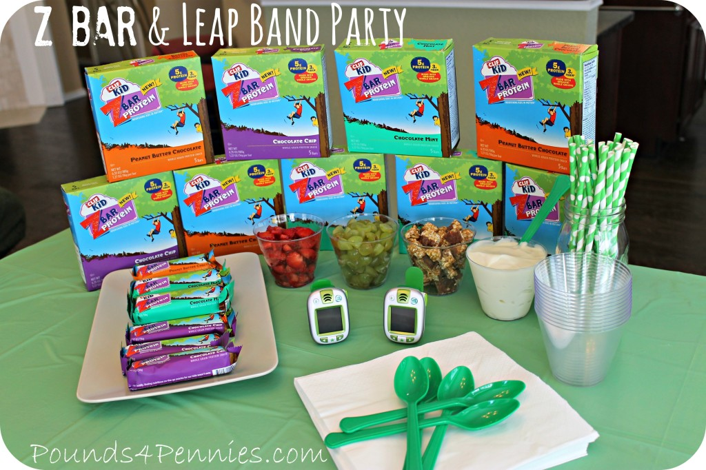 Z Bar and Leap Band Fit Made Fun