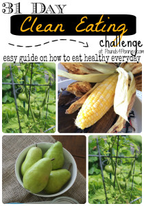 31 day clean eating challenge guide