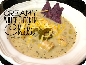 Winning Creamy White Chicken Chili 1