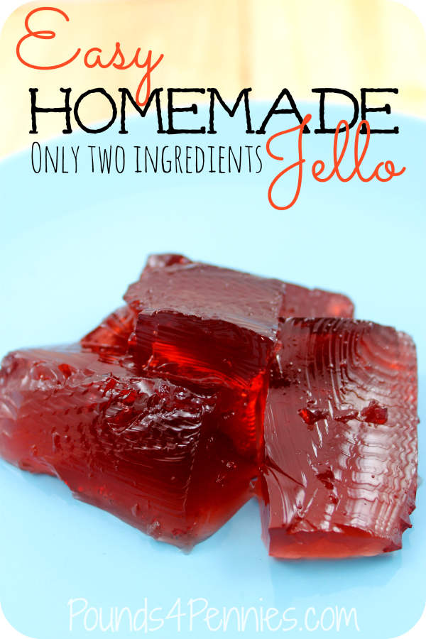 Easy Homemade Jello