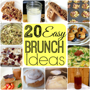 20 Easy Brunch Ideas